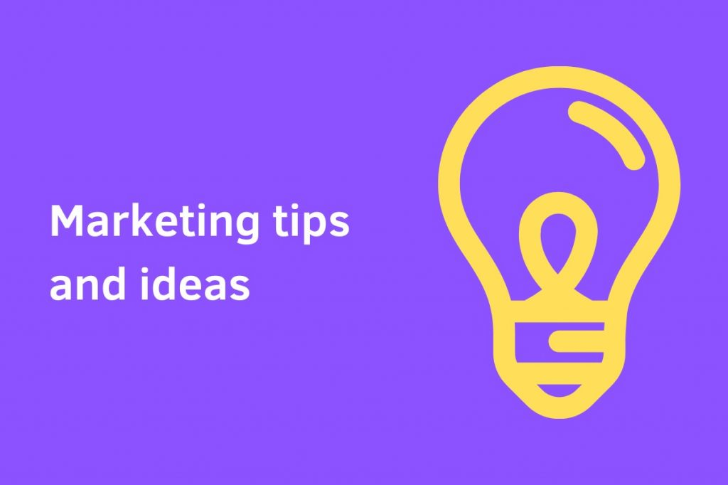 marketing ideas and tips
